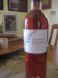 Picnic WIne - 2010 Stepping Stone Rosé Corallina from Cornerstone Cellars