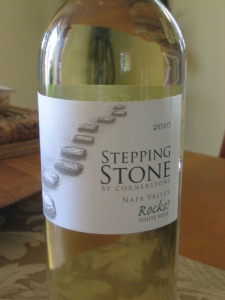 Picnic Wine - Stepping Stone Rocks! from Cornerstone Cellars