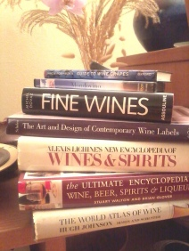 Books about wine!