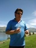 Melissoni Vineyards, Lake Chelan Washington, Lake Chelan Wine Country, Rob Mellisoni, Owner, Serious and seriously joyful about his wines and his life.
